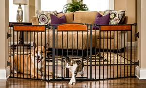 Deluxe Extra-Wide Pet Gate at Deluxe Extra-Wide Pet Gate, plus 6.0% Cash Back from Ebates.