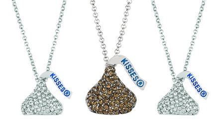 Swarovski Elements Hershey's Kisses Necklace