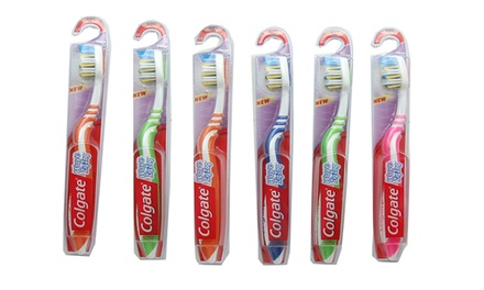Colgate Wave ZigZag Adult Toothbrush (6-Pack)