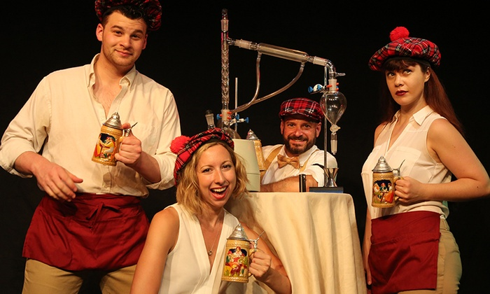 """""""The Imbible"""" - SoHo Playhouse (Until Oct. 13): """"The Imbible: A Spirited History of Drinking NYE Edition"""" on Thursday, December 31 at 9 p.m."""