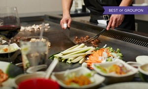 Otani Japanese Steak & Seafood: Sushi and Hibachi Cuisine at Otani Japanese Steak & Seafood (Up to 68% Off). Two Options Available.