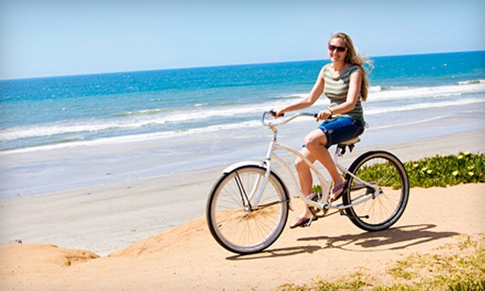 Cali Bike Tours - Belmont Shore: Wine-Tasting Bike Tour for One or Two from Cali Bike Tours in Long Beach (Up to 58% Off)