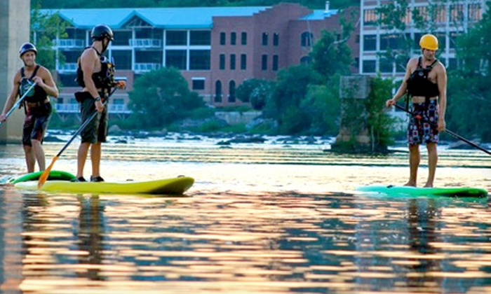 Riverside Outfitters - Richmond: Three-Hour James River Paddleboarding Trip for One or Two from Riverside Outfitters (Up to 51% Off)