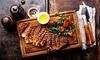 Menu di carne con tris di tagliata 900 gr