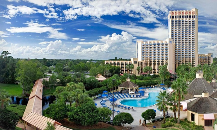 The Buena Vista Palace Hotel & Spa - Greater Orlando, FL: Stay at The Buena Vista Palace Hotel & Spa in Lake Buena Vista,FL. Includes daily $21.95 resort fee. Dates into November