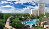 Hilton Buena Vista Palace - Greater Orlando, FL: Stay at The Buena Vista Palace Hotel & Spa in Lake Buena Vista,FL. Includes daily $21.95 resort fee. Dates into November