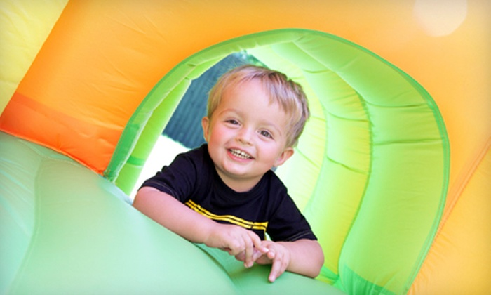 Kidz Ultimate Party Zone - Flour Bluff: Summer Jump Pass, Jump Passes for Four with Pizza, or a Kids' Birthday Party at Kidz Ultimate Party Zone (Up to 86% Off)
