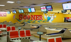 Sooner Bowling Center: $39 for a 90-Minute Bowling Package for Up to Six at Sooner Bowling Center ($68.50 Value)