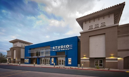 $5 for a Movie Outing with a Ticket at Studio Movie Grill (Up to $9.50 Value)