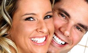 Una o dos sesiones de blanqueamiento LED con limpieza bucal por ultrasonidos desde 49,90 €