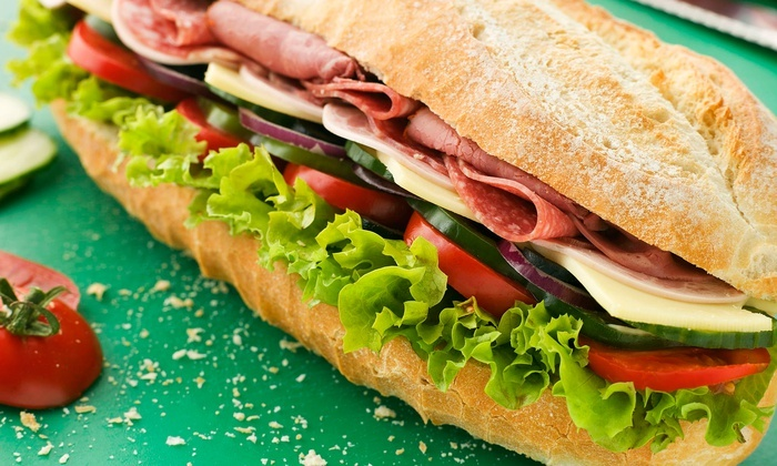 Lenny's Sub Shop - Multiple Locations: Subs and Drinks or Party Platter at Lenny's Sub Shop (Up to 50% Off)