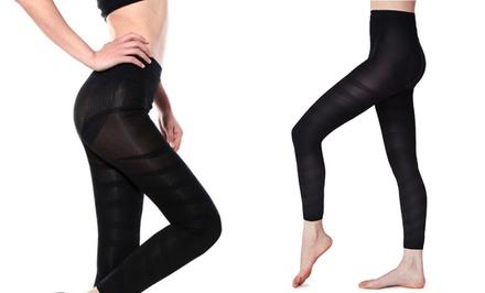 Women's Compression Leg Wrap Slimmer Tights