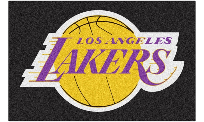 Los Angeles Lakers Starter Mat : Los Angeles Lakers Starter Mat
