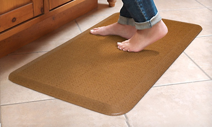 NewLife by GelPro Comfort Floor Mat: $25 for a NewLife by GelPro Designer Comfort Floor Mat ($49.95 List Price). Three Colors Available.