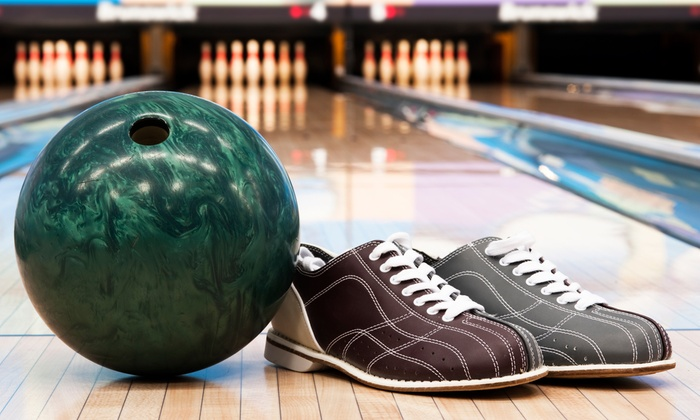 Lowell Lanes - Lowell: $22 for Bowling and Shoes for Six with One Pitcher of Soda at Lowell Lanes (Up to $55 Value)