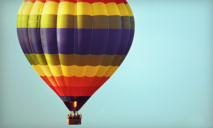 Panorama Balloon Tours - Murrieta: Temecula Valley Sunrise Balloon Tour for One or Two from Panorama Balloon Tours (Up to 51% Off)