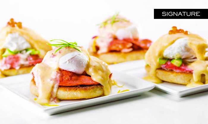 Caesars Palace: Bacchanal Buffet - Caesars Palace: $69 for VIP All-You-Can-Eat Breakfast with Mimosas at Bacchanal Buffet at Caesars Palace ($131.98 Value)
