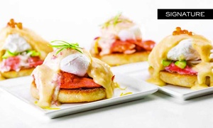 Caesars Palace: Bacchanal Buffet: $69 for VIP All-You-Can-Eat Breakfast with Mimosas at Bacchanal Buffet at Caesars Palace ($131.98 Value)