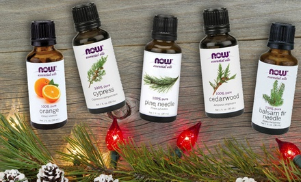 Now Holiday Essential Oils (3-, 4-, or 5-Pack)