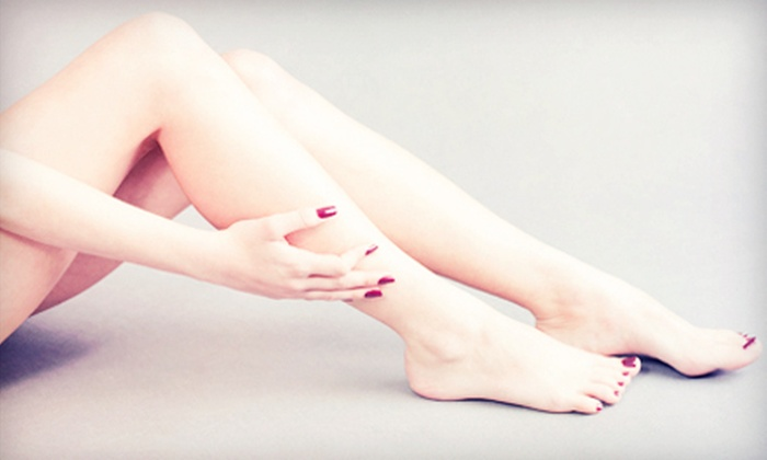 Island Skin and Laser - Island Skin and Laser: Laser Hair Removal on a Small, Medium, or Large Area with a Year of Touchups at Island Skin and Laser (Up to 83% Off)
