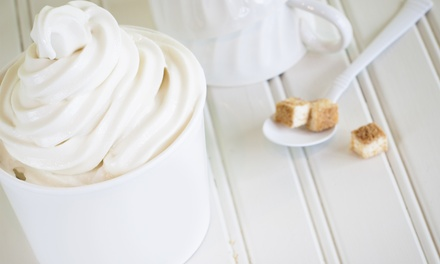 Frozen Yogurt and Toppings at Y'OPA Frozen Yogurt (Up to 45% Off). Two Options Available.