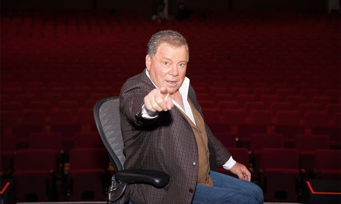 "Shatner's World: We Just Live In It - Rialto Square Theatre: ""Shatner's World: We Just Live In It"" on Saturday, January 23, 2016, at 8 p.m."