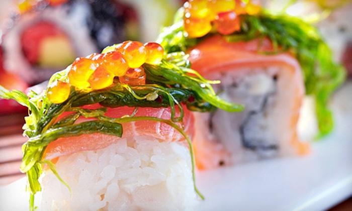 Edamame Japanese Steak House & Sushi Bar - Daytona Beach: Sushi, Hibachi, and Japanese Cuisine at Edamame Japanese Steak House & Sushi Bar (Half Off). Two Options Available.
