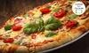 Sicilia's - Contagem: Sicilia's - Contagem: 1 pizza gigante
