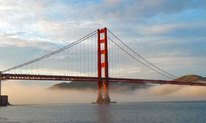 City Sightseeing - Fisherman's Wharf : Downtown Tour or Golden Gate and Sausalito Tour from City Sightseeing (Up to 51% Off). Two Options Available.