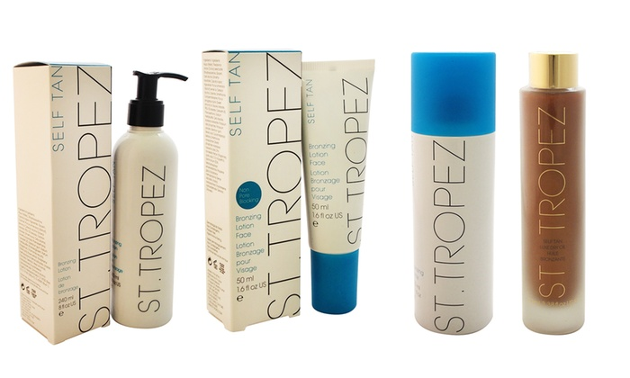 St. Tropez Self-Tan Skincare Products