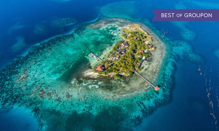 3-, 4-, 5- or 6-Night All-Inclusive Stay for Two at Hatchet Caye Resort in Belize. Includes Taxes and Fees.