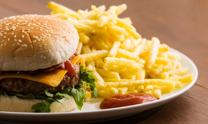 Cameron's Restaurant, Pub & Inn - Half Moon Bay: Burger Meal for Two with Sides and Drinks at Cameron's Restaurant, Pub & Inn (Up to 39% Off)