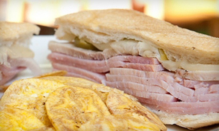 Mi Apá Latin Café - Gainesville: Cuban Food at Mi Apá Latin Café (Half Off). Two Options Available.