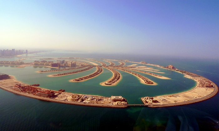 Dubai Vacation with Abu Dhabi Option with Hotels and Air from Great Value Vacations - Abu Dhabi: ✈ 7-Day Dubai Vacation w/ Abu Dhabi Option w/Air from Great Value Vacations. Price per Person Based on Double Occupancy.