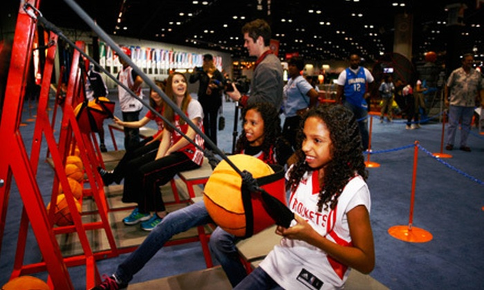 NBA All-Star Jam Session - Downtown: NBA All-Star Jam Session at George R. Brown Convention Center on February 14 or 17 (Up to 51% Off)