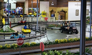 Tiny Towne: Four or Six Rounds of Kids' Driving Experience at Tiny Towne (Up to 37% Off)