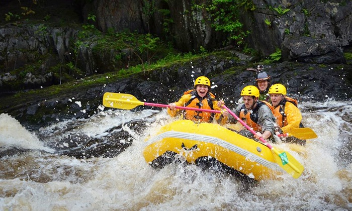 Northwood's Adventures - Vulcan: Piers Gorge Half-Day Whitewater-Rafting Trip for Two, Four, or Six from Northwood's Adventures (Up to 59% Off)