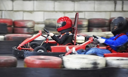 Go Kart Races and Mini-Golf for 5, or Go-Kart Races for 2 at Cooter's Place (Up to 51% Off). 3 Options Available.
