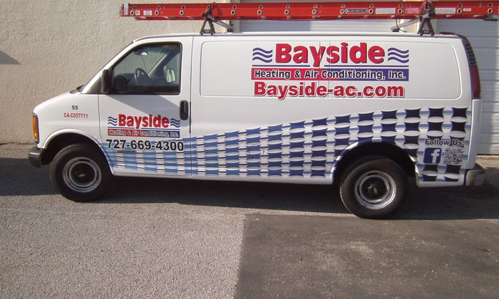 Bayside Heating & Air Conditioning - Tampa Bay Area: $50 for $90 Worth of HVAC Services — Bayside Heating & Air Conditioning