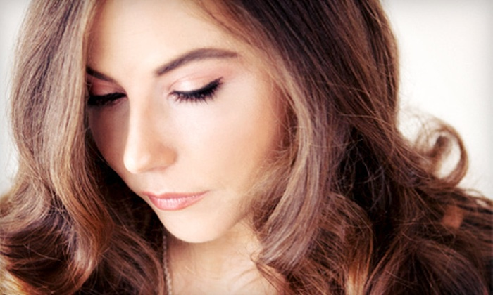 Strandz Hair Design - Woodroofe - Lincoln Heights: Haircut and Blow-Dry with or without Colour or Half Head of Highlights at Strandz Hair Design (Up to 54% Off)
