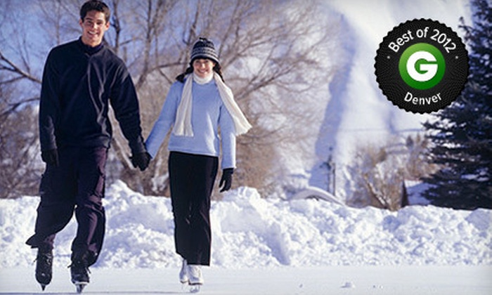 Evergreen Lake House - Evergreen West: Ice Skating for Two, Four, or Six with Skate Rental at Evergreen Lake House (Half Off)