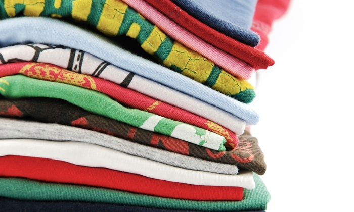 Shiraz Enterprise LLC - Eastwood: Custom Printing for 1, 5, or 10 T-Shirts at Shiraz Enterprise LLC (Up to 54% Off)