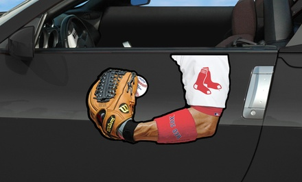 MLB Arm Car Magnet. Multiple Teams Available. Free Returns.