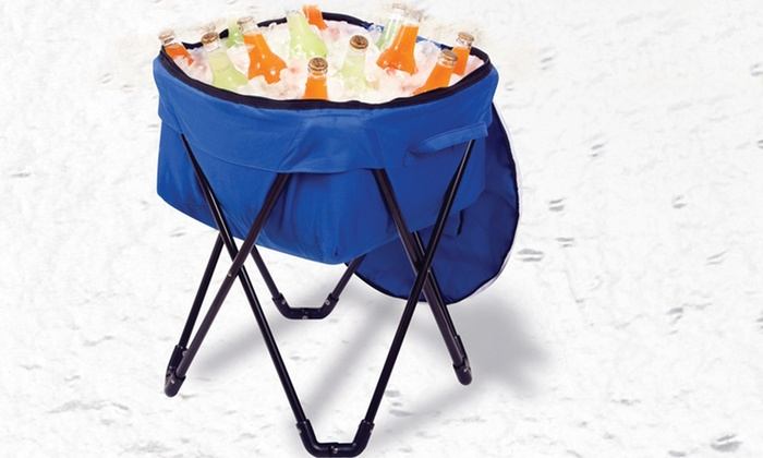 Etna Home Products Collapsible Cooler: $26.99 for an Etna Home Products Drink Cooler with Folding Metal Stand ($91.99 List Price)