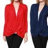 Plus Size Women's Criss-Cross Cardigan