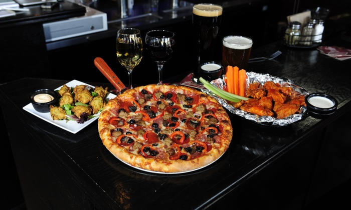 Gametime Sports Bar & Pizzeria - Downtown Concord: $22 for $40 Worth of Pizza — GameTime Sports Bar & Pizzeria