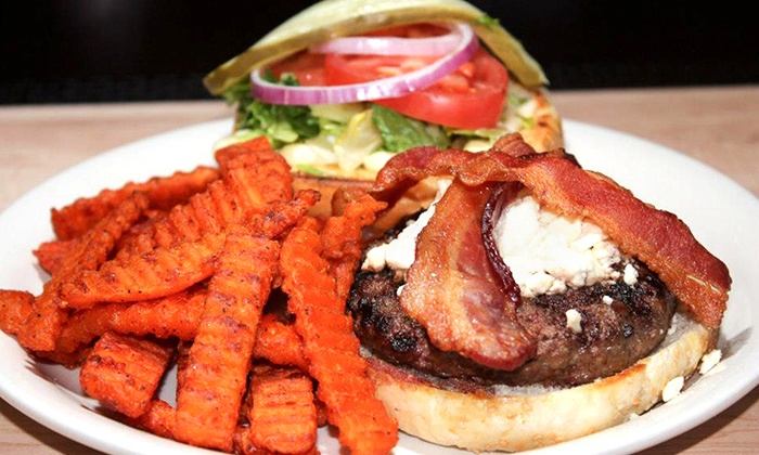 Duke's on Grand - Crossroads: Pub Food and Drinks at Duke's on Grand (Up to 52% Off). Two Options Available.