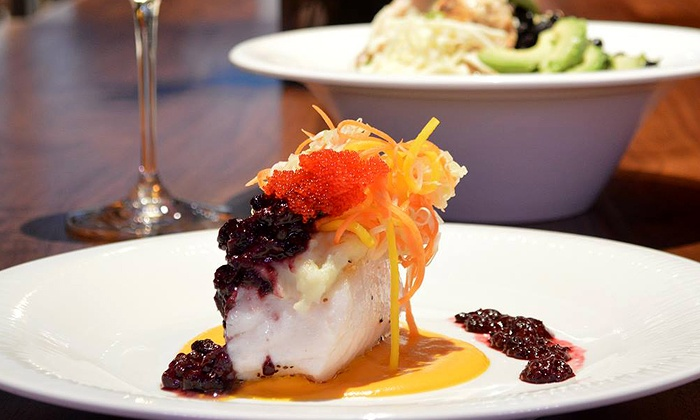 Vinotopia - Weston Point: $35.95 for Three-Course Dinner with Option for Dessert at Vinotopia ($73.94 Value)