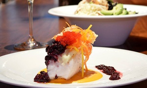 $35.95 For Three-course Dinner With Option For Dessert At Vinotopia ($73.70 Value)