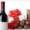 Half Off Wine-and-Chocolates Gift